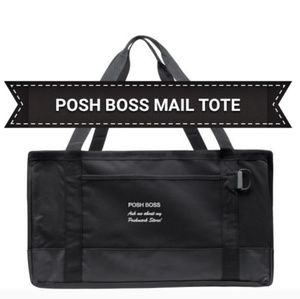 boutique Bags - NWT HEAVY DUTY POSHMARK SWAG TOTE MAIL CARRIER
